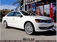 VW Passat with 20in Mandrus Rotec Wheels exclusively from