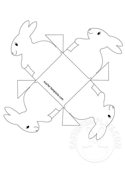 Easter Craft – Paper bunny basket | Easter Template
