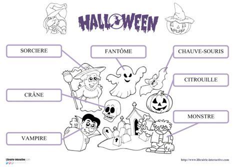 Librairieinteractive  Vocabulaire D'halloween