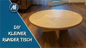 Kleiner Runder Tisch : kleiner runder tisch ein geschenk f r meine frau diy youtube ~ Watch28wear.com Haus und Dekorationen