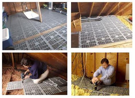 attic dek brand attic deck  floor panels     pack usa  plastic