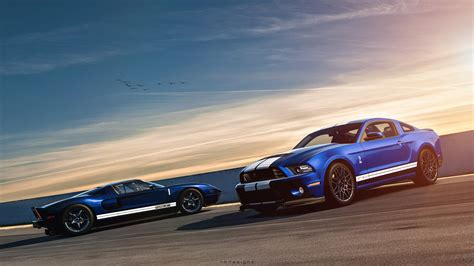Ford Mustang Shelby Gt500 Ford Gt Wallpaper