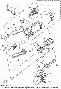 Yamaha Atv 2002 Oem Parts Diagram For Exhaust