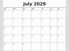 April 2029 Calendars That Work