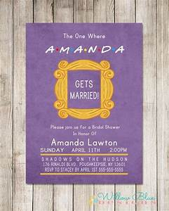 wedding inspiration how to throw the ultimate friends tv With wedding invitation maker for friends