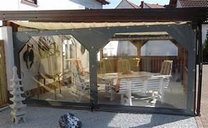 Durchsichtige Plane Terrasse : windschutz terrasse terrasse windschutz ~ Frokenaadalensverden.com Haus und Dekorationen