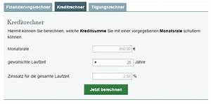 Haus Darlehen Rechner : darlehensrechner darlehen mit online rechner berechnen ~ Kayakingforconservation.com Haus und Dekorationen