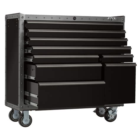 Viper Cabinet - viper tool storage 41 inch 9 drawer armor series rolling