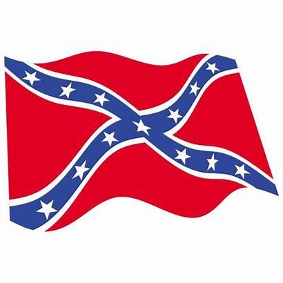 Confederate Flag Rebel Clipart Clip Vector American