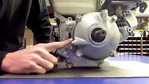 How To Fill The Engine And Gearbox On A Honda Gx120 And