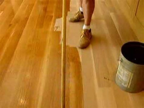 tung oil  universal floors  youtube
