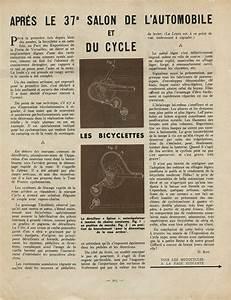 Le Site De L Auto : unknown french magazine 1950 apres le 37e salon de l 39 automobile et du cycle ~ Medecine-chirurgie-esthetiques.com Avis de Voitures