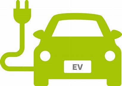 Electric Vehicle Icon Charging Yellow Pinclipart Automatically