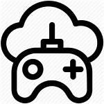 Icon Cloud Computing Gaming Games Demand Gamepad