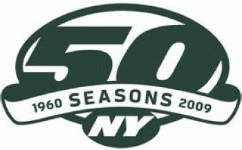 york jets anniversary logo national football league