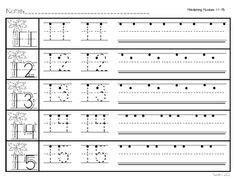 11 20 number trace worksheet printable worksheets and