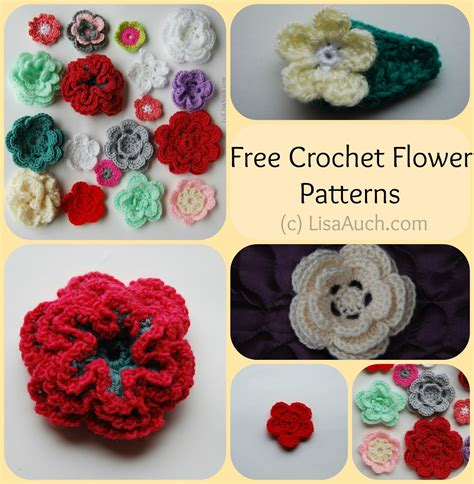 Free Crochet Patterns And Designs By Lisaauch Free