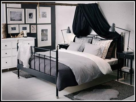 Ikea Bett Metall Grau  Betten  House Und Dekor Galerie