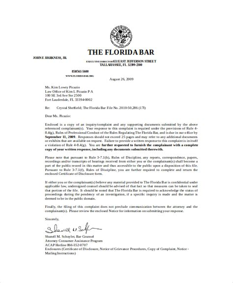 Letter Of Rebuttal Template by Rebuttal Letter Template 5 Free Word Pdf Documents