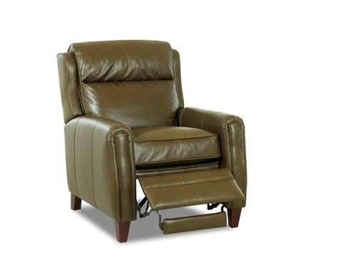 top grain leather recliner camelot top grain leather