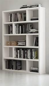 Etagère Et Casier à Chaussures : biblioth que tag re dublin 10 casiers blanc mat ~ Dallasstarsshop.com Idées de Décoration