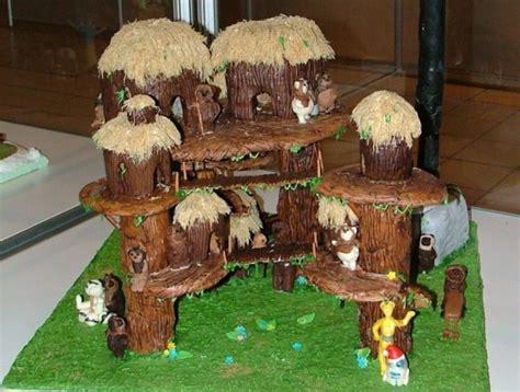 eat  ewoks   gingerbread endor forest
