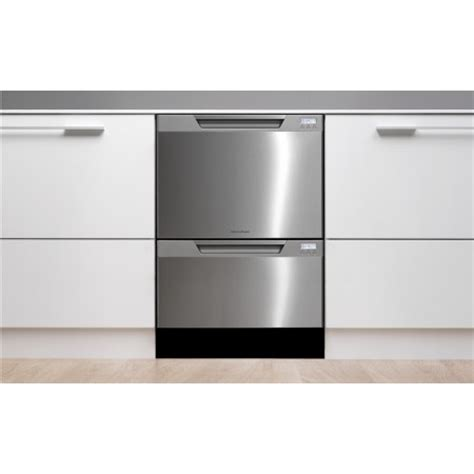 fisher paykel dishdrawer dddctxv semi integrated double drawer dishwasher tall tub stainless