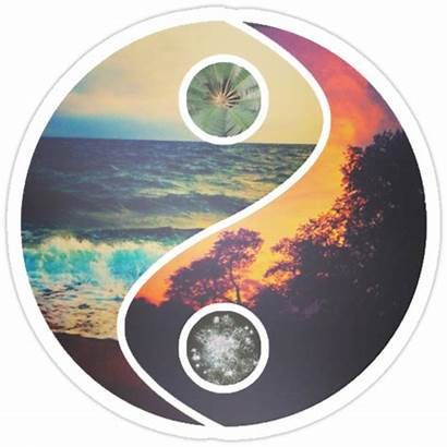 Chill Vibes Stickers Yang Sweetfx Portfolio Redbubble