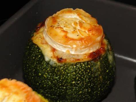 cuisiner des courgettes rondes courgettes rondes farcies au chevre aurélie cuisine