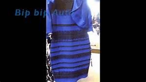 explication scientifique de la couleur de la robe bleu With robe mystère