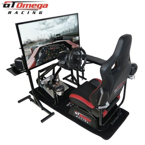 Pro Gaming Chairs by Gt Omega Pro Racing Simulator Professional Rs6 Seat