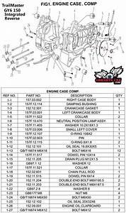 Chain Pull Rod  Trailmaster 150 Xrs    Xrx Go Kart