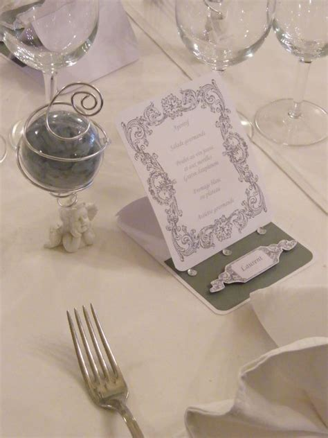 deco de table gris et blanc table mariage th 232 me ange blanc et gris photo de d 233 co de table les passions scrap et d 233 co