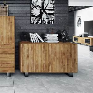 Sideboard Wildeiche Massiv Geölt : wildeiche sideboard vaneri massiv ge lt ~ Watch28wear.com Haus und Dekorationen