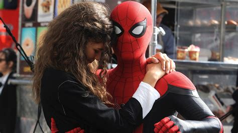 tom holland wraps filming  spider man   home shares     spidey suit