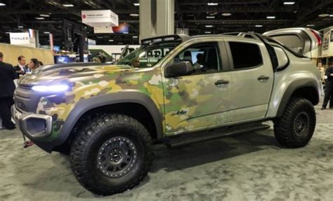 2017 Chevrolet Colorado Zh2  1st Hydrogen Truck Price