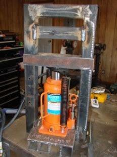 homemade mini hydraulic press homemadetoolsnet