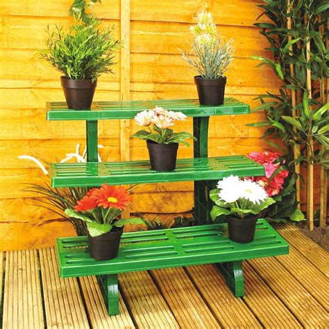 Plant Etagere Outdoor by 3 Tier Etagere Tiered Potted Plant Garden Display Stand