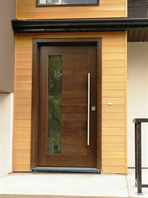 Simple Modern Front Doors For A Stunning Modern Home