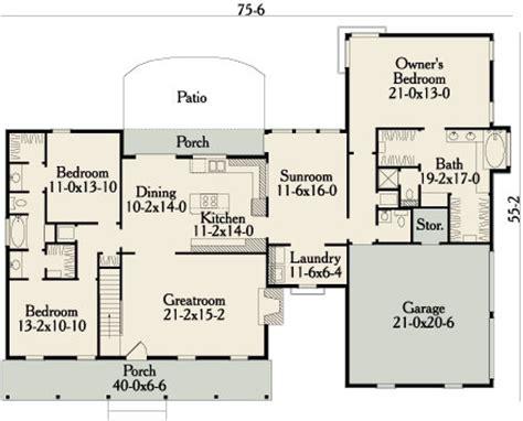 garrison   bedrooms   baths  house designers