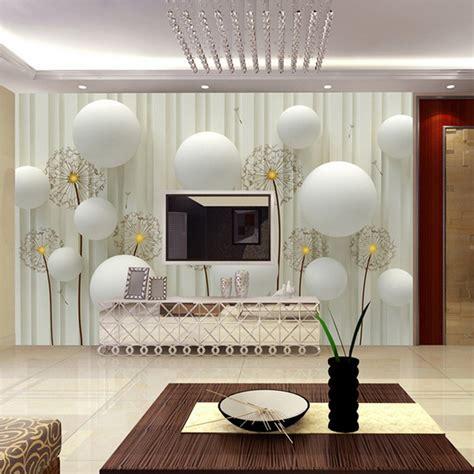 wallpaper  living room  amazingly realistic ideas