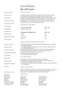 bar resume sles student cv template sles student graduate cv qualifications career advice