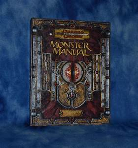 Monster Manual  Core Rulebook Iii V  3 5 Dungeons