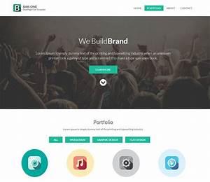 Bak One Free Responsive HTML5 CSS3 Mobileweb Template