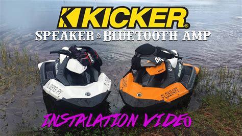 Kickers Spark how to install kicker speakers on a sea doo spark