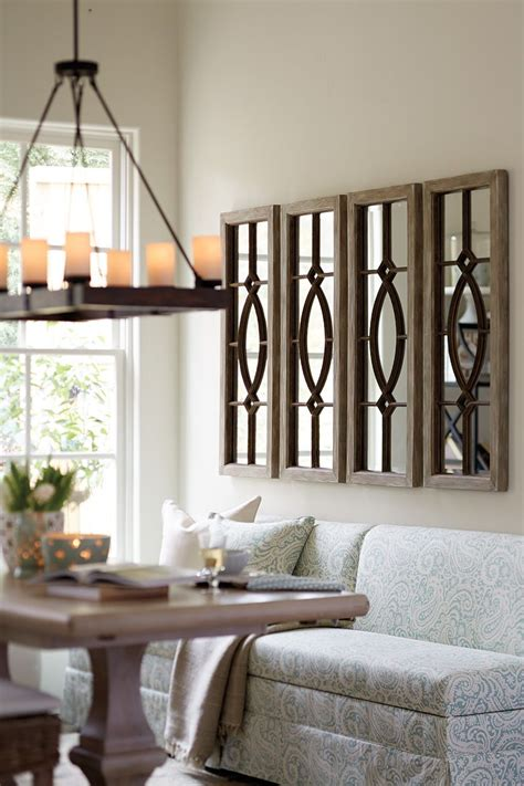 decorating  architectural mirrors living room ideas