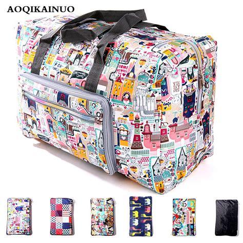 2018 New Folding Travel Bag Large Capacity Waterproof ...