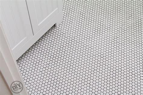 install penny tile  diy village