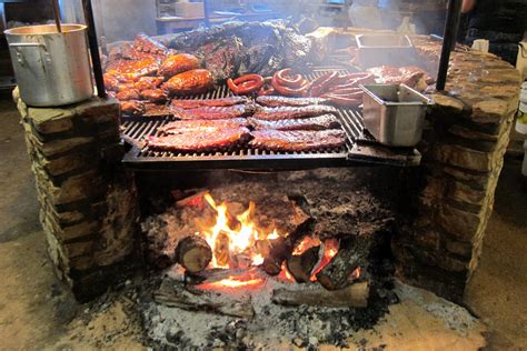 Texas Driftwood The Salt Lick Bbq Barbecue Pit Flickr