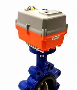 Manual Motorized Butterfly Valves With Actuator  Valve